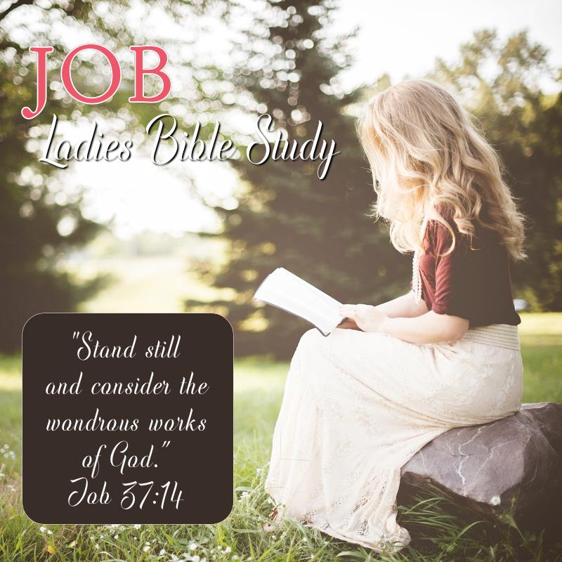 Ladies Bible Study: Job — CALVARY CHAPEL TURLOCK