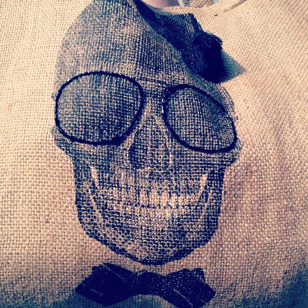 skeleton, fez cap