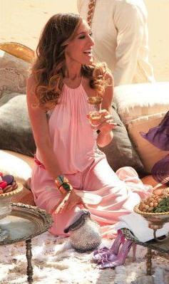 Sarah Jessica Parker in Morocco