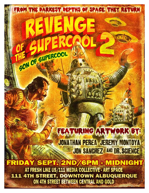 REVENGE OF THE SUPERCOOL 2 — JON SANCHEZ CREATIVE