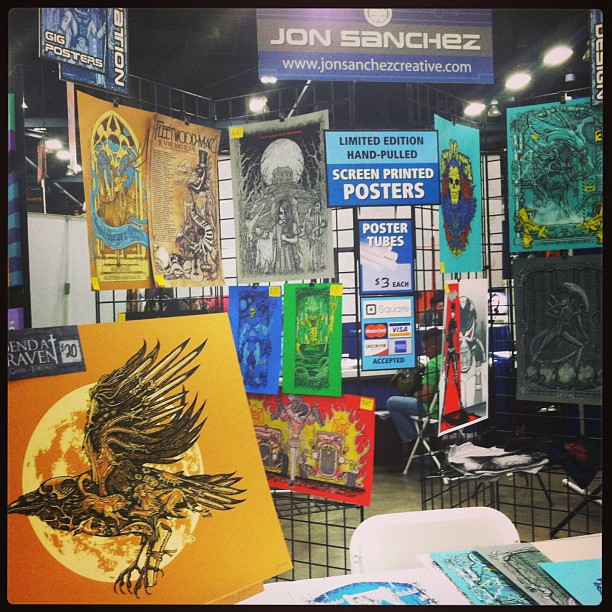 Great first day. Good sales and good company. ACE!!! #abqcomicexpo #jonito #ohbabysotasty (at Albuquerque Convention & Visitors Bureau)