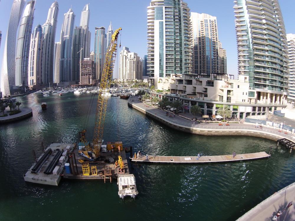 Dubai Marina - Marine Infrastructure Works