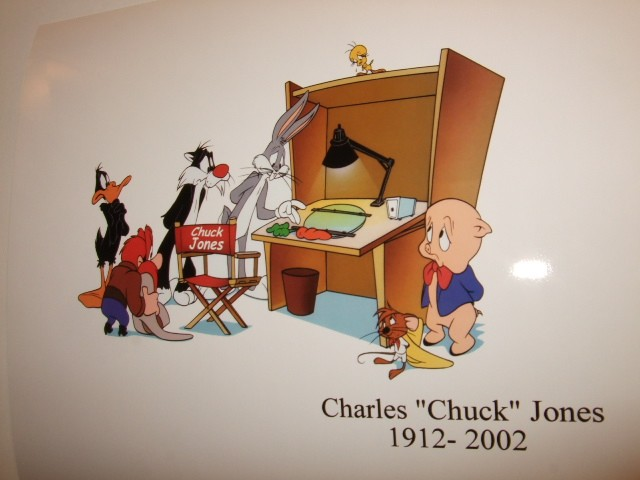 One for Chuck Jones.