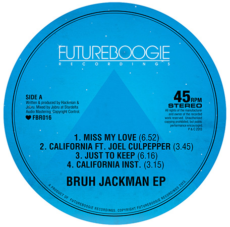 Stream the New EP from Hackman's and Jabru's Bruh Jackman Project.