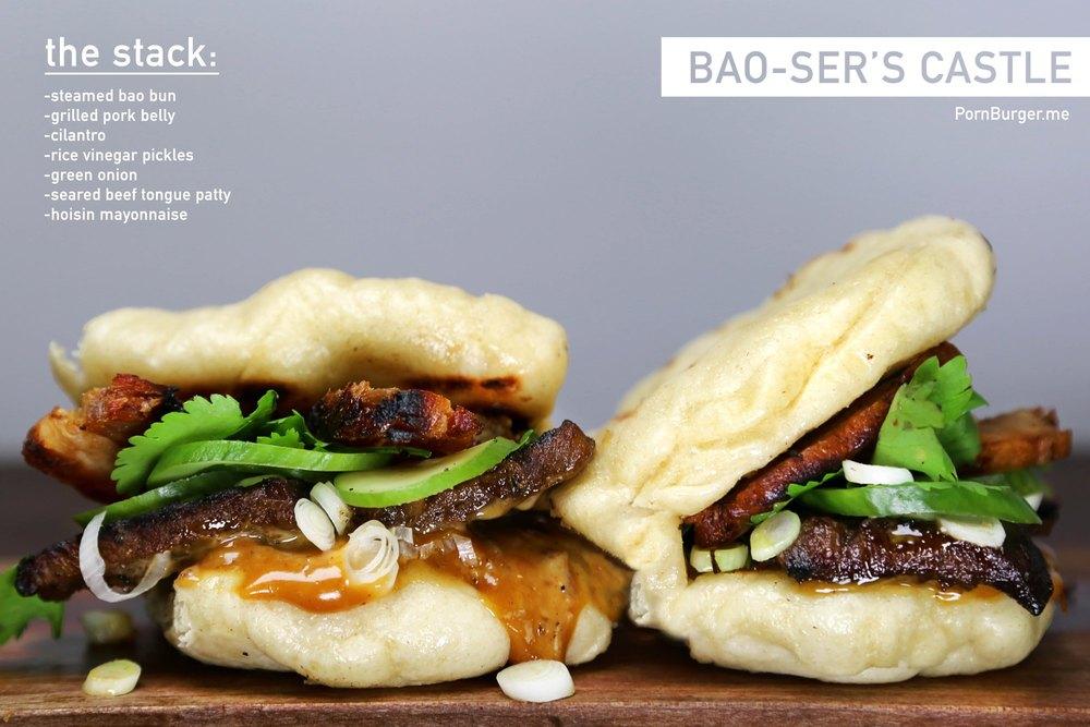 Bao-Ser's Castle Burger.