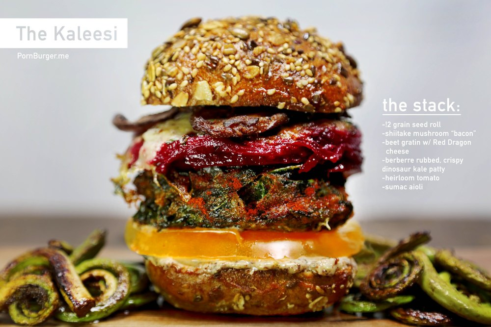 The Kaleesi Burger.
