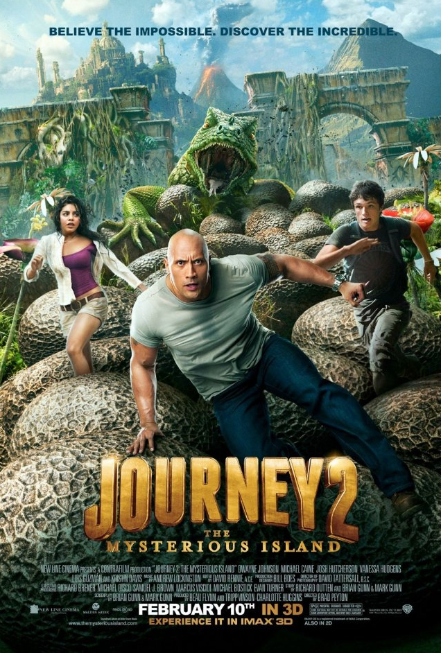 Journey 2: The Mysterious Island @ Method Studios