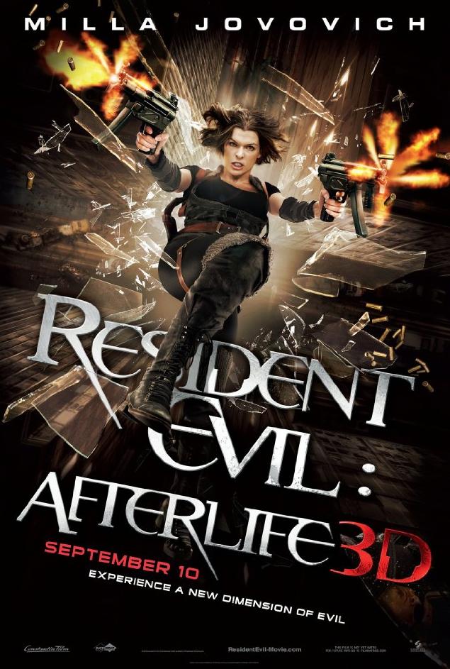 Resident Evil 4: Afterlife in 3D @ Mr.X