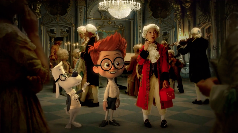 Dreamworks Mr Peabody and Sherman for a McDonalds Commercial