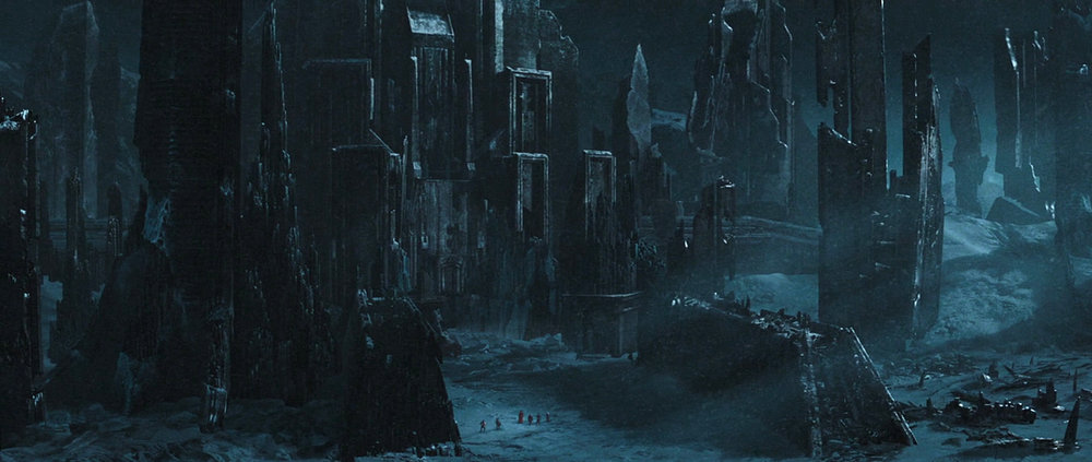 Thor - Final Matte Painted Shot