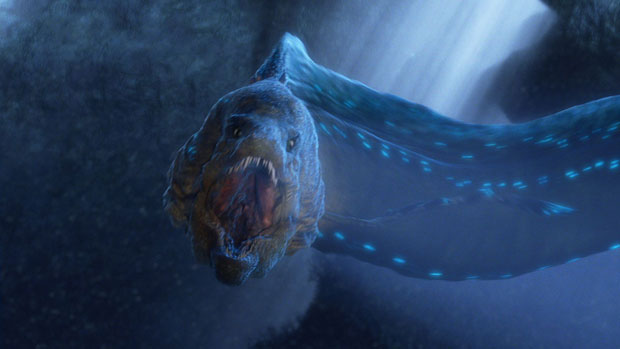 Eel as it looks in the film