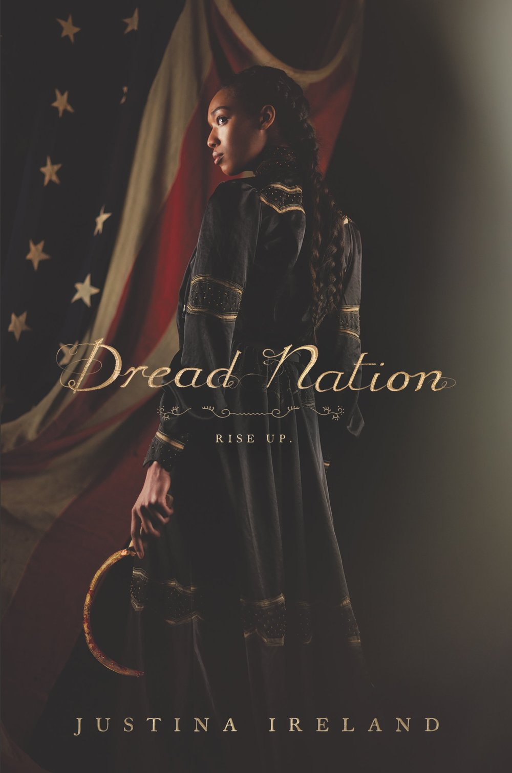 Dread Nation - Jane McKeene was born two days before the dead began to walk the battlefields of Gettysburg and Chancellorsville—derailing the War Between the States and changing America forever. In this new nation, safety for all depends on the work of a few, and laws like the Native and Negro Reeducation Act require certain children attend combat schools to learn to put down the dead. But there are also opportunities—and Jane is studying to become an Attendant, trained in both weaponry and etiquette to protect the well-to-do. It's a chance for a better life for Negro girls like Jane. After all, not even being the daughter of a wealthy white Southern woman could save her from society's expectations.But that's not a life Jane wants. Almost finished with her education at Miss Preston's School of Combat in Baltimore, Jane is set on returning to her Kentucky home and doesn't pay much mind to the politics of the eastern cities, with their talk of returning America to the glory of its days before the dead rose. But when families around Baltimore County begin to go missing, Jane is caught in the middle of a conspiracy, one that finds her in a desperate fight for her life against some powerful enemies. And the restless dead, it would seem, are the least of her problems.At once provocative, terrifying, and darkly subversive, Dread Nation is Justina Ireland's stunning vision of an America both foreign and familiar—a country on the brink, at the explosive crossroads where race, humanity, and survival meet.