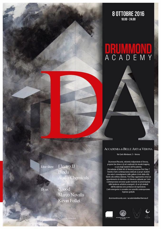 Drummond Club 2, Poster. DesignerCristiano Garonzi