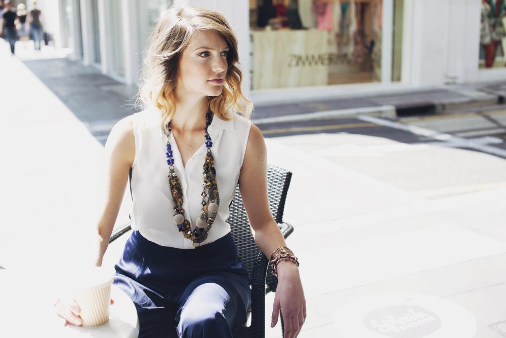 Model: Maddie | Styling: Caitlin Johns | Hair: Das | Makeup: Carina Peta