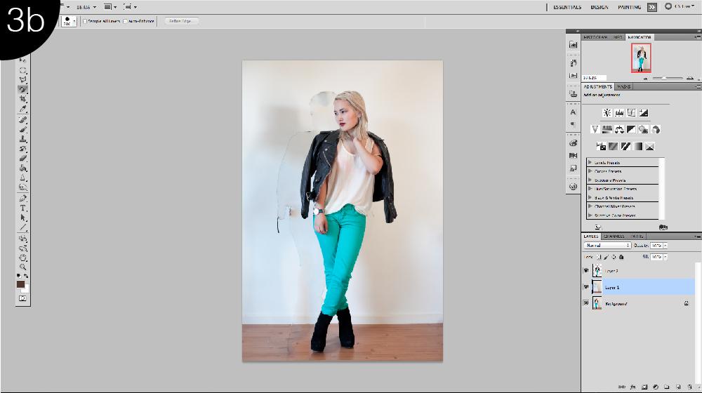 retouching fashion images