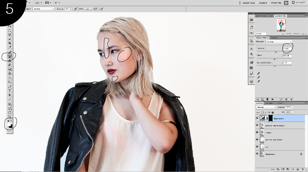 how to highlight skin in photoshop