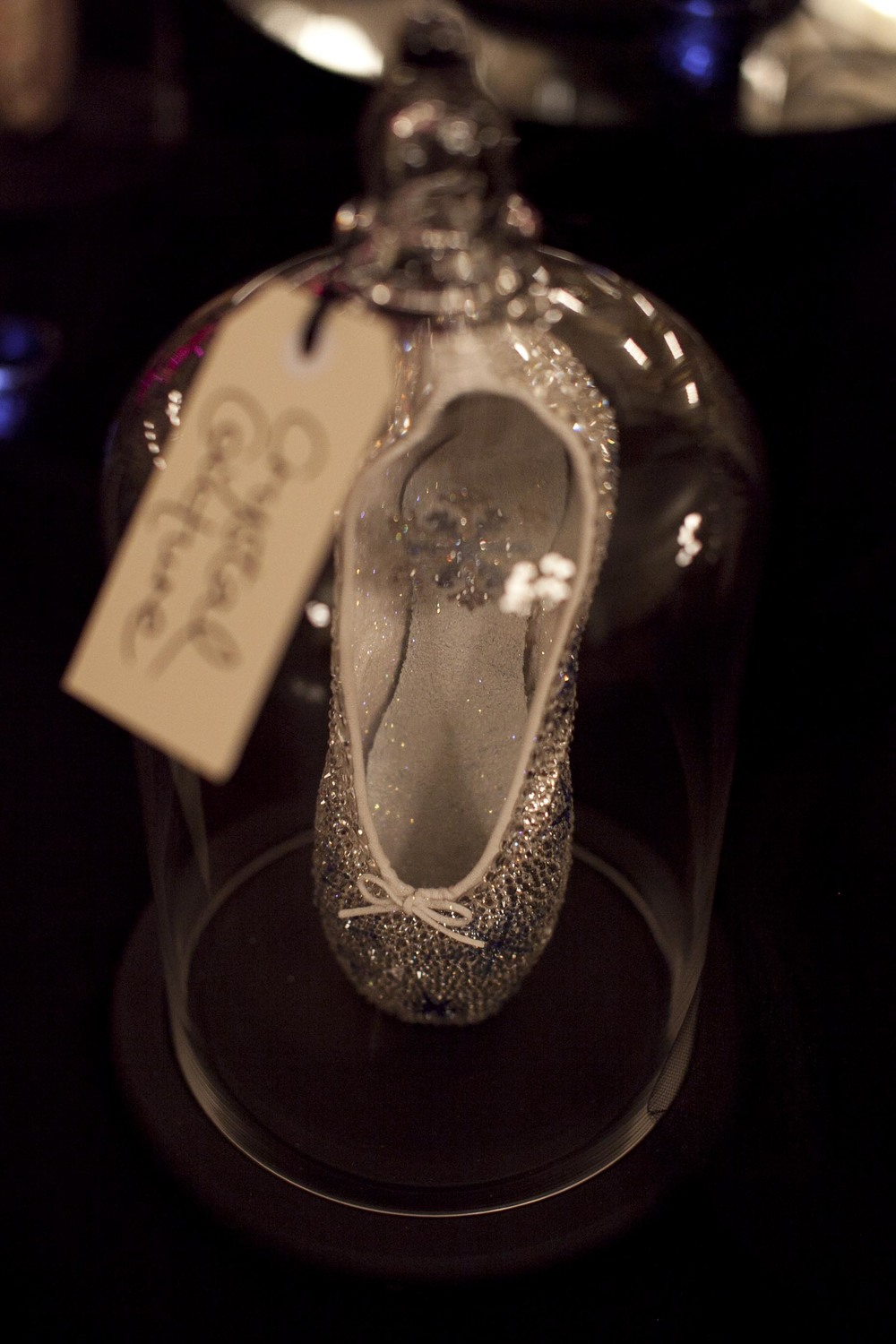 Crystal Couture ballet flat