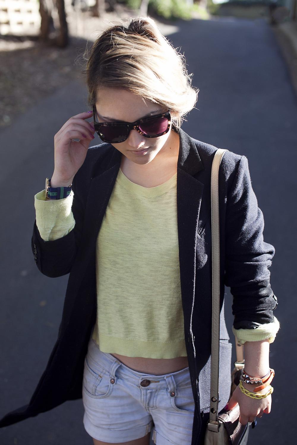 Daniel Wellington watch (gift) | Ksubi 'ara' sunglasses (gift)