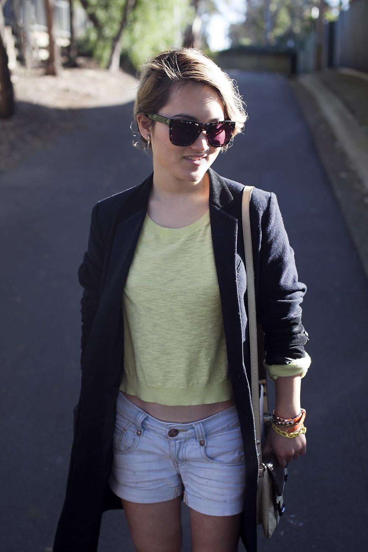 Studded wrap bracelet from Cherri Bellini (similar) | Sportsgirl bracelet