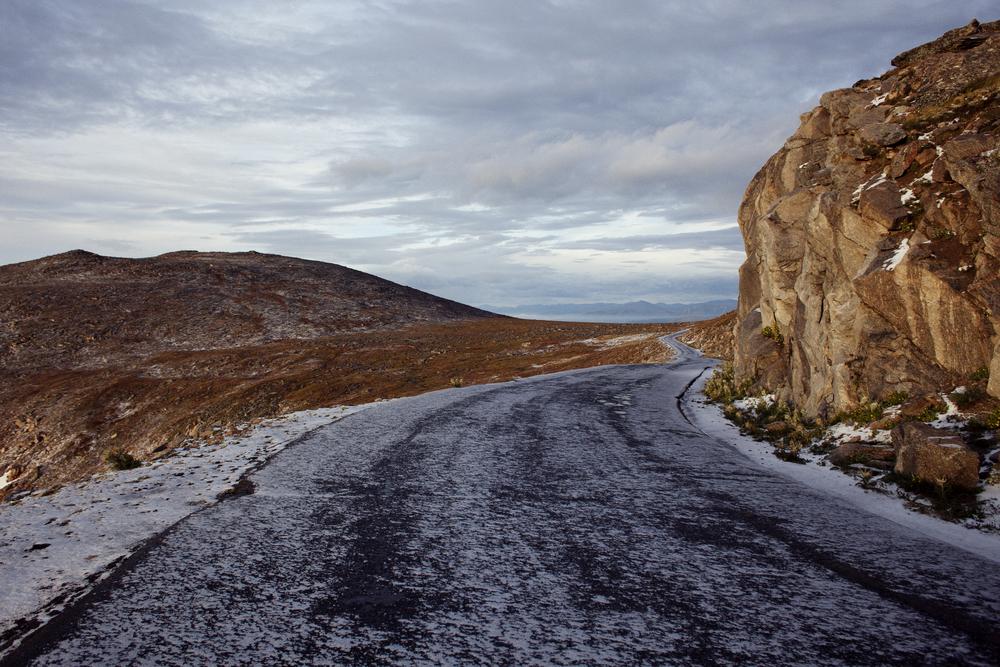 Mt Evans summit road