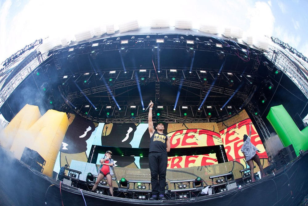Major Lazer @ Stereosonic 2012