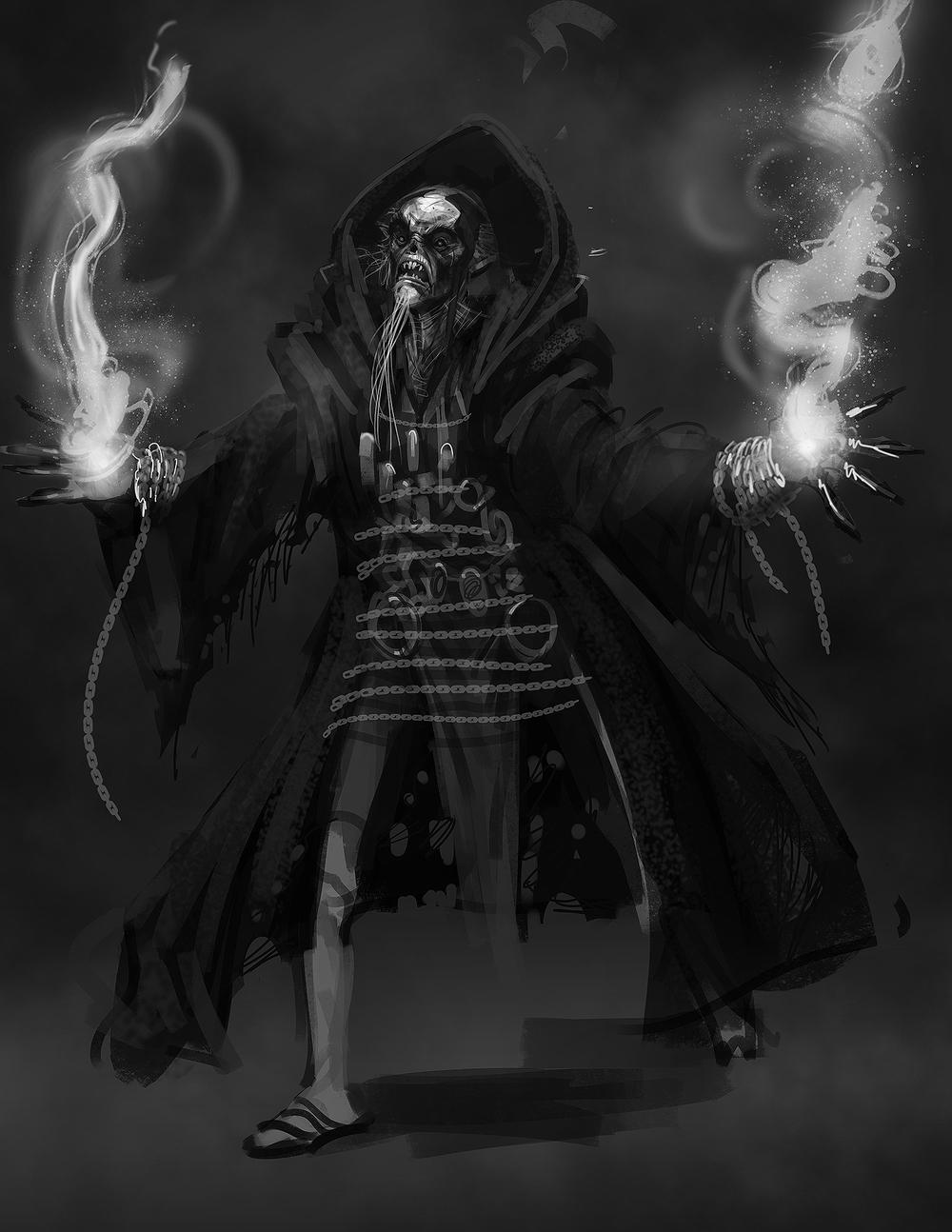 evil wizard 01 — Thomas Williams Concept Art