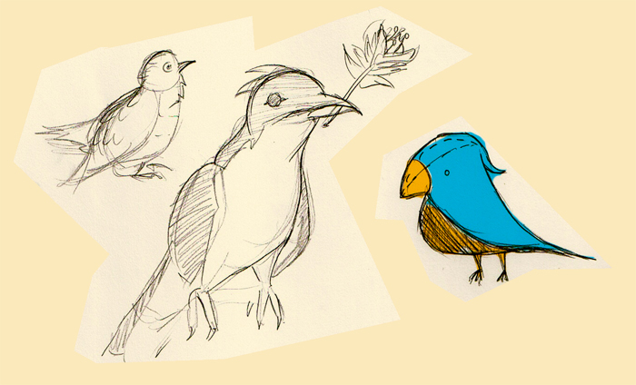 just drawing birds and developing my story ideas for my final year animation project.