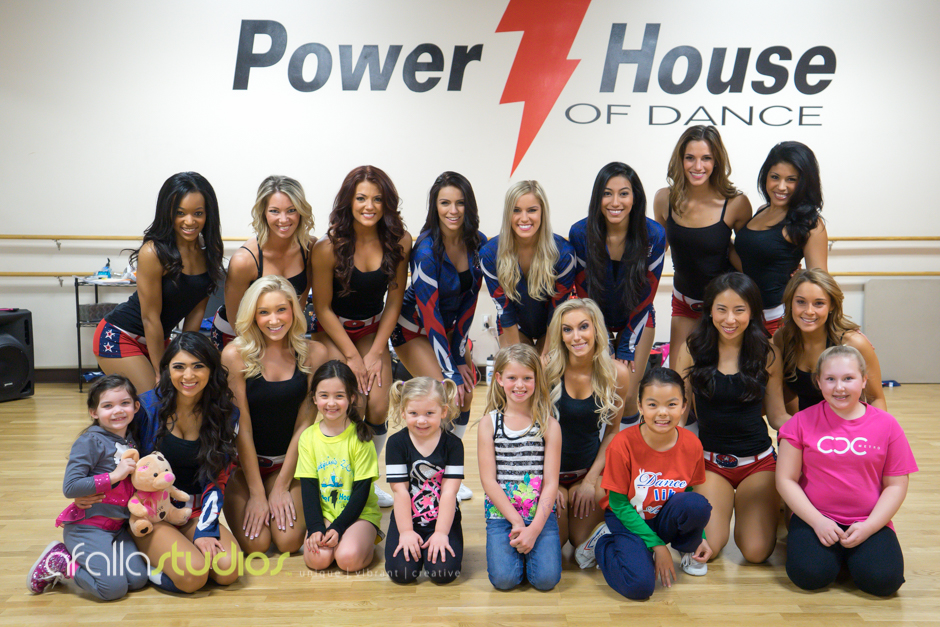 Our Junior Ice Angels posing for the camera with their big sisters.