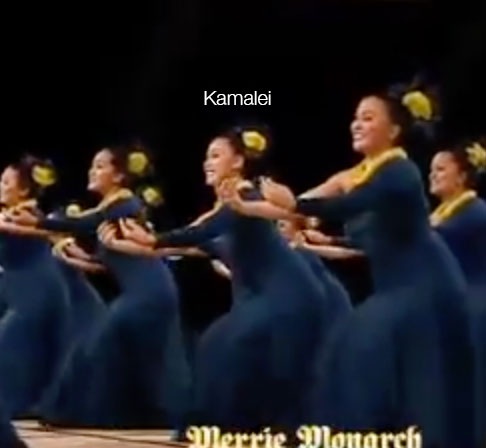 Above: My beautiful niece, Kamalei, performing at the Merrie Monarch Festival in Hilo, Hawaii.