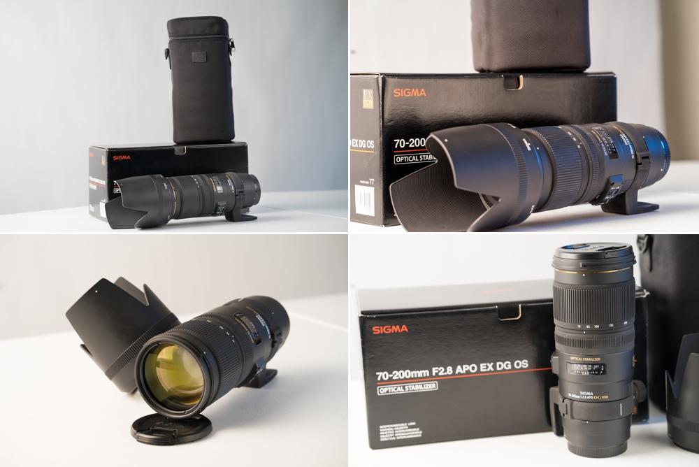 Sigma 70-200mm F2.8 APO EX DG OS lens
