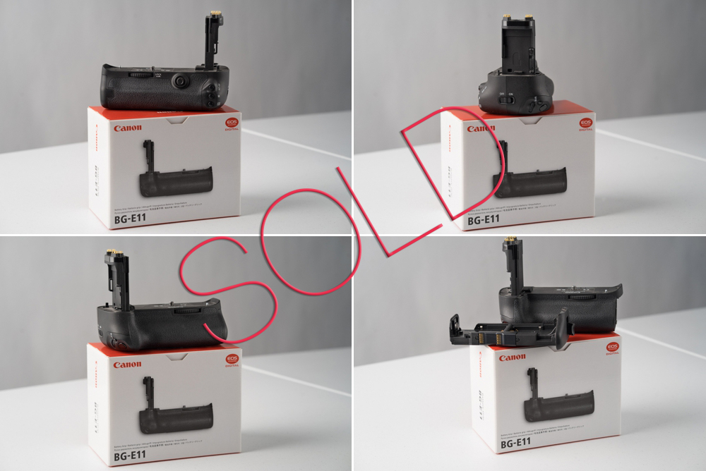 Canon BG-E11 Battery Grip. SOLD.