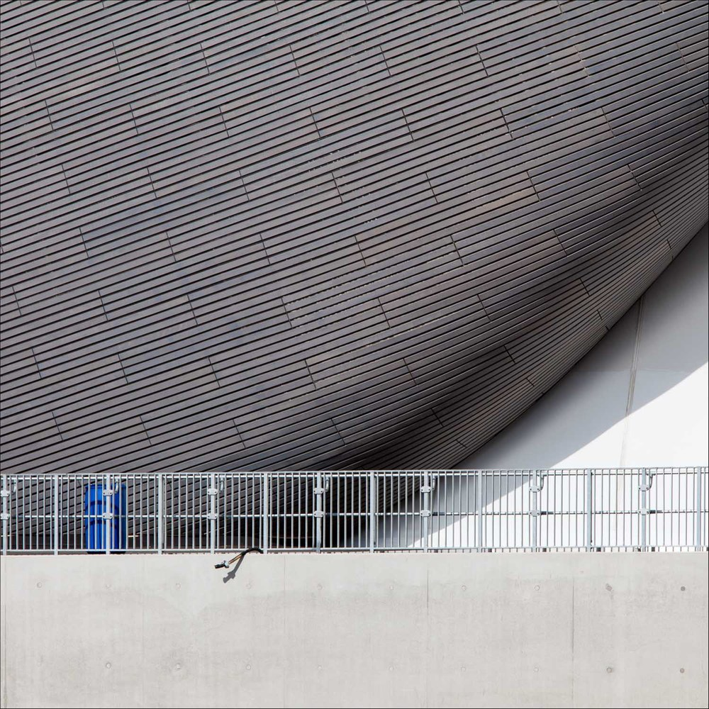 Aquatics Centre, designed by Zaha Hadid