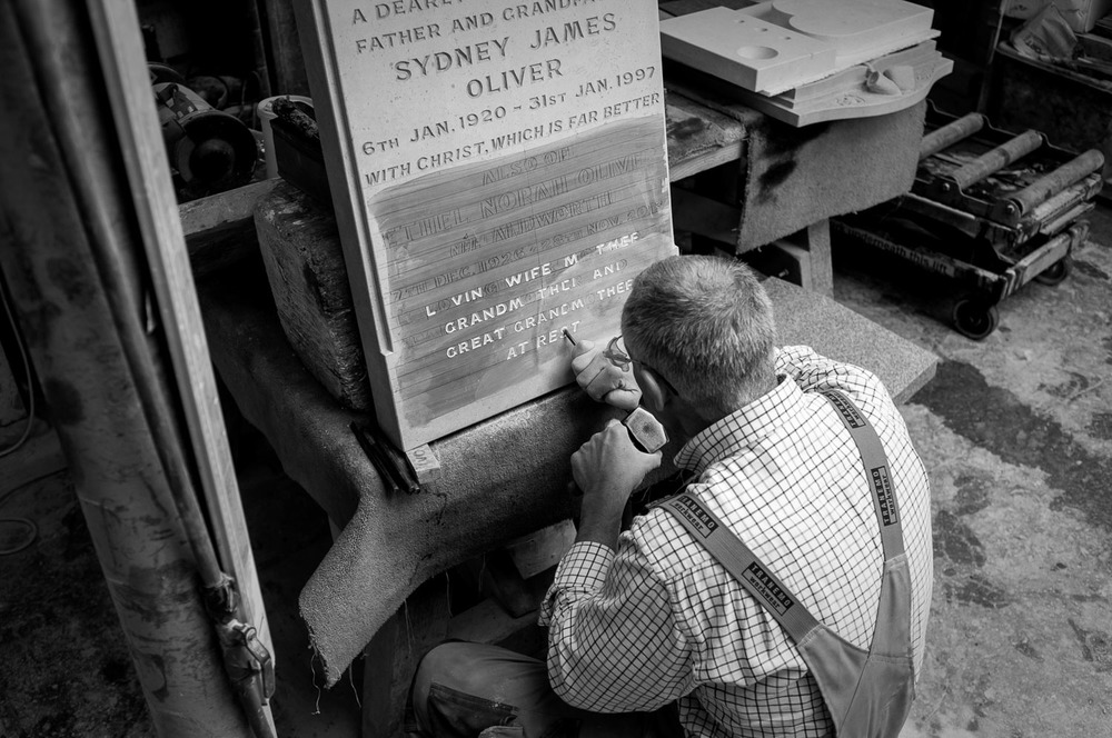 Cleverley & Spencer Stonemasons, Dover   (  click image for lightbox view /  see more from this visit )