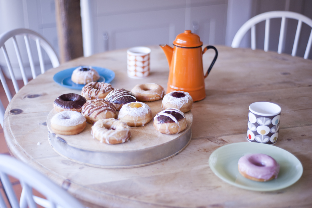 12 Mini doughnuts