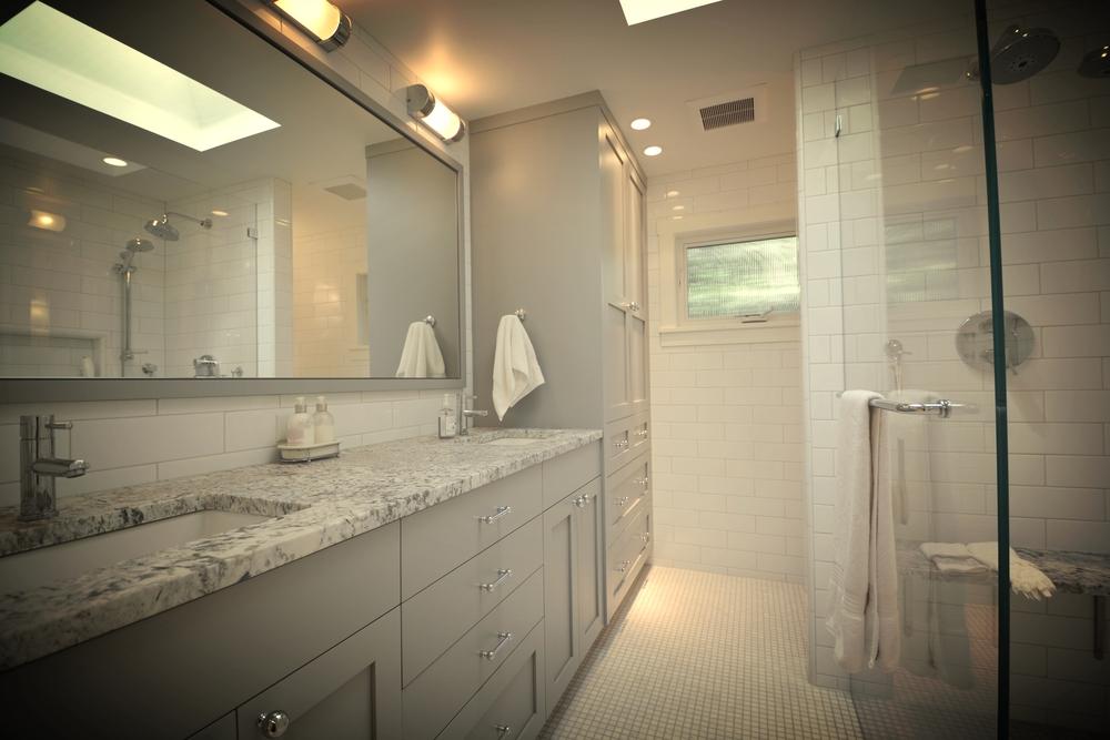 Two Bathrooms on Mercer Island