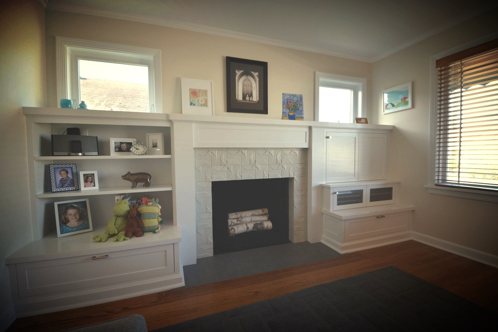 Loyal Heights Living Room