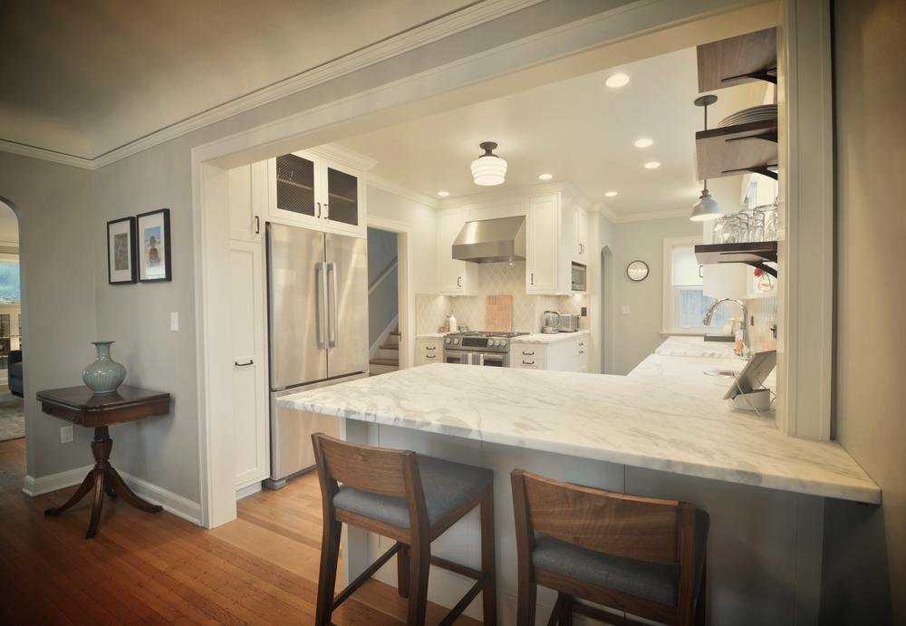 Wallingford Kitchen, Mudroom, Living Room