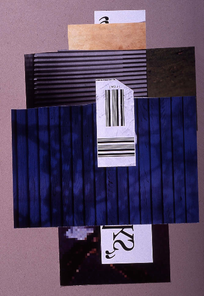 "landscape 1991 collage 18""24"""