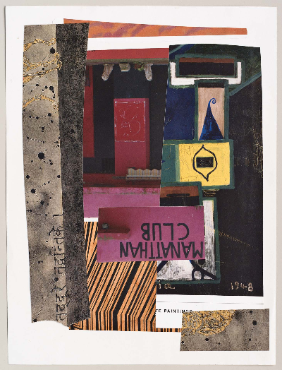 "club m 2011 collage 9""x12"""