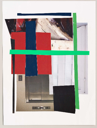 "lattice 2011 collage 9""x12"""