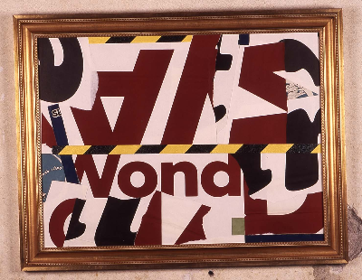 "wonder 2001 mixed media 36""x24"""