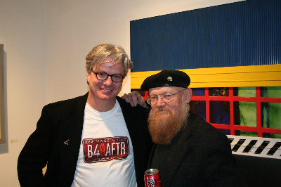 artist with Jim Leedy 2006