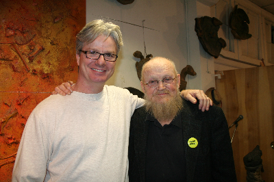 artist with Jim Leedy 2010