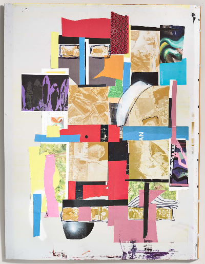 "plate 2. 30""x 40"" 2012  mixed media"