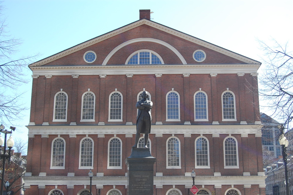 Faneuil Hall and Samuel Adams