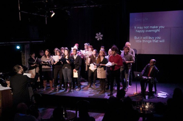 3penny Christmas Concert Choir. Photo: Omer Yukseker