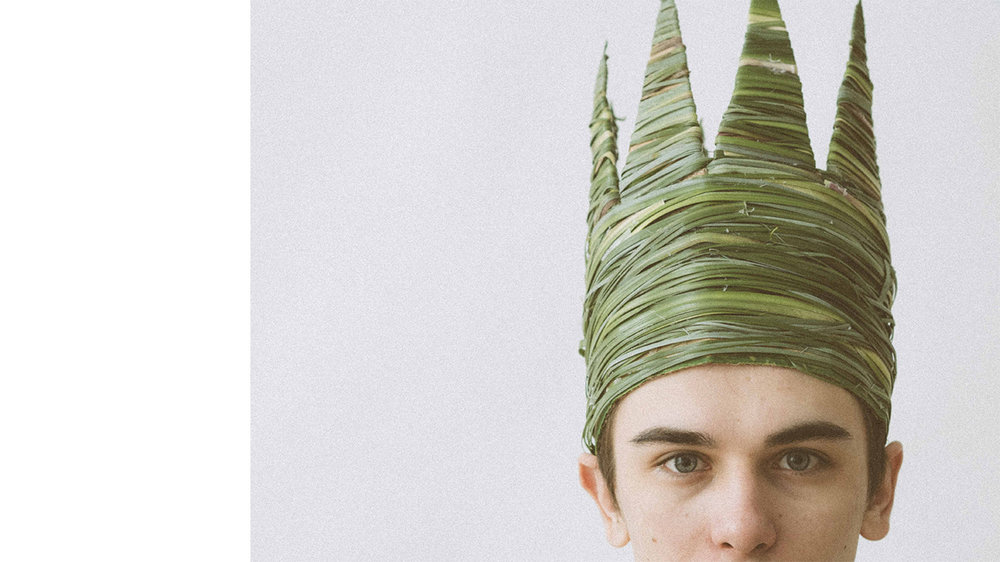 grass crown - headpiece series
