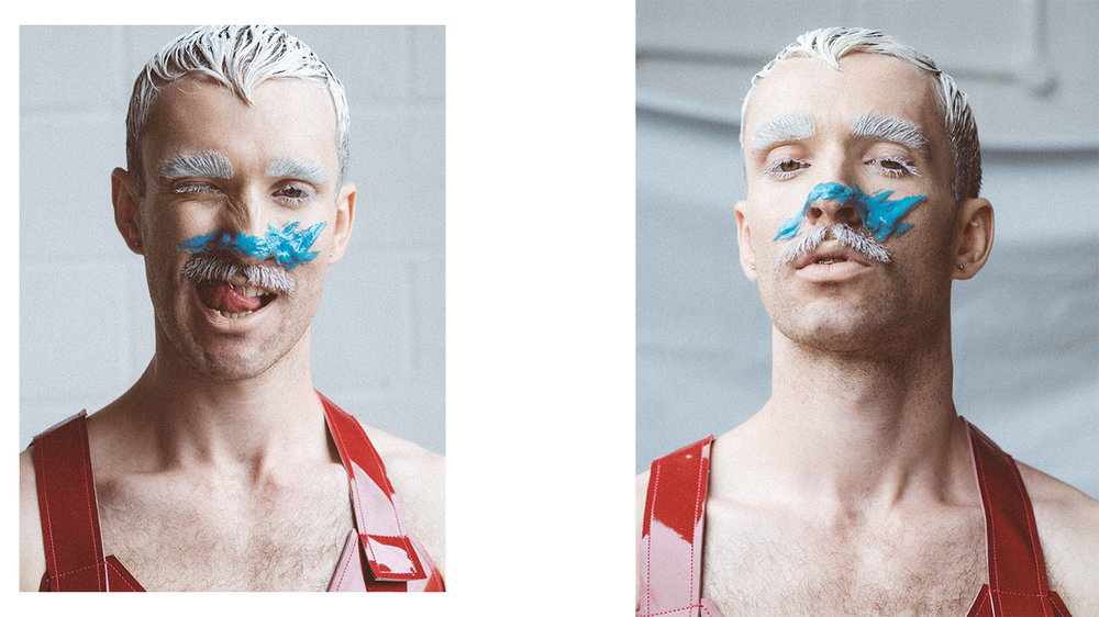 editorial for Kaltblut magazine  let's go dancing  MUA: Ben Dneprowskij