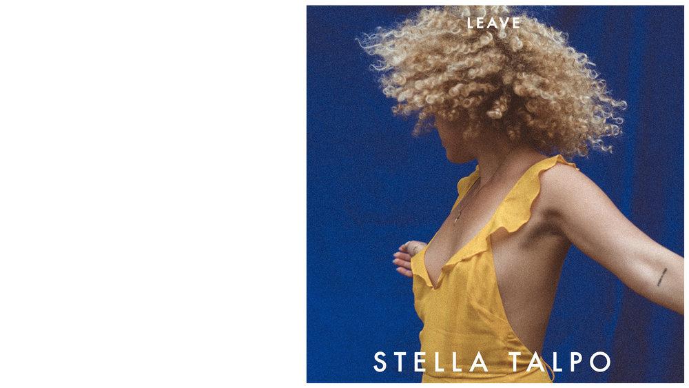 STELLA TALPO poster for LEAVE