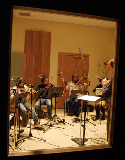 Scoring session for  Ray Bradbury's Chrysalis